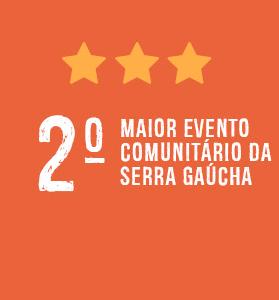 Segundo maior evento comunitário da Serra Gaúcha