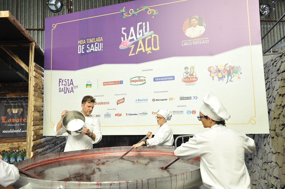 Festa da Uva 2019 distribui 3 mil porções de sagu