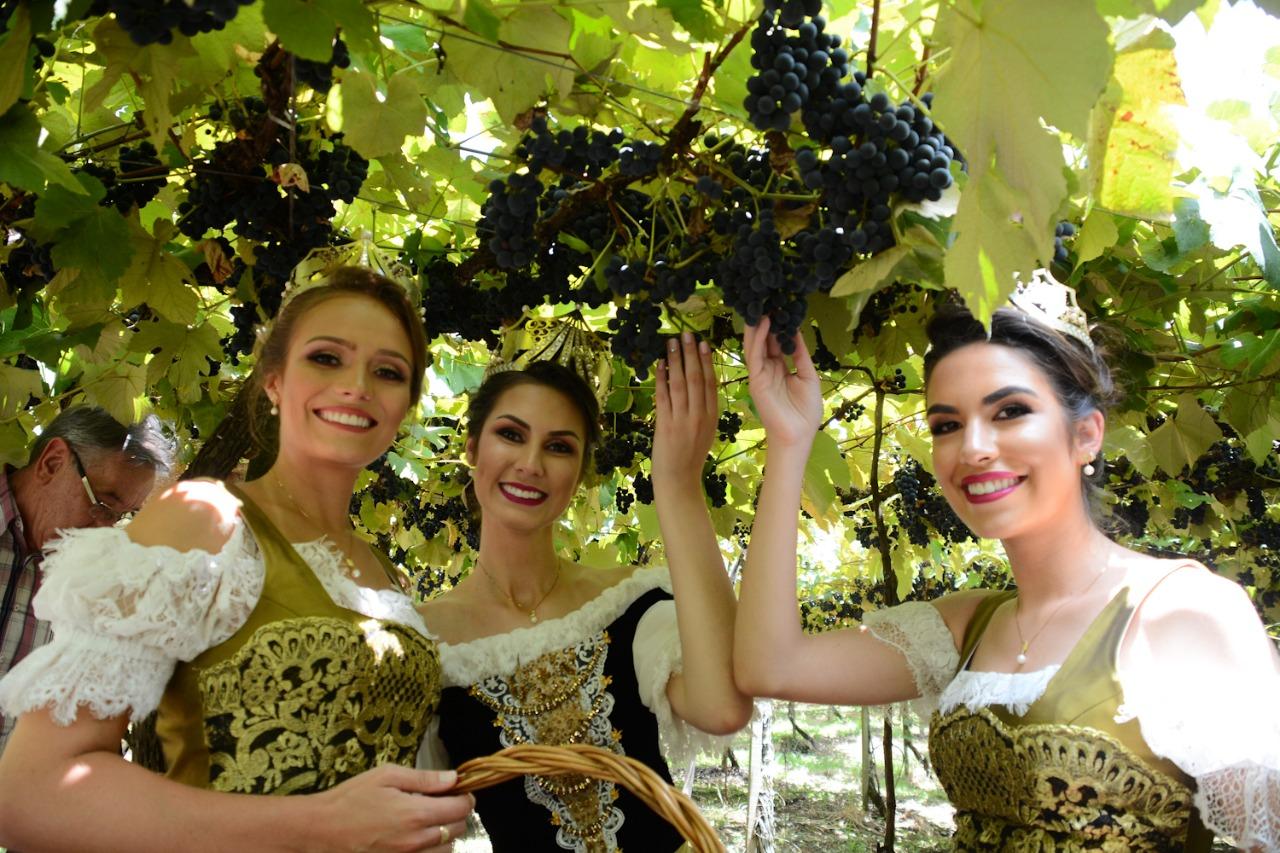 Concurso de escolha da Rainha e  Princesas da Festa da Uva 2022 é adiado