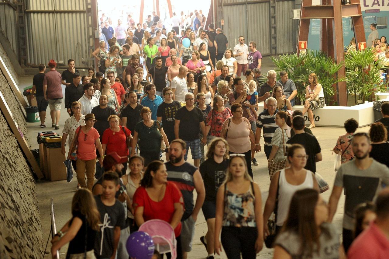 Público da Festa da Uva 2019 ultrapassa 250 mil pessoas