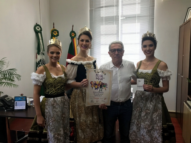 Soberanas intensificam divulgação da Festa da Uva 2019