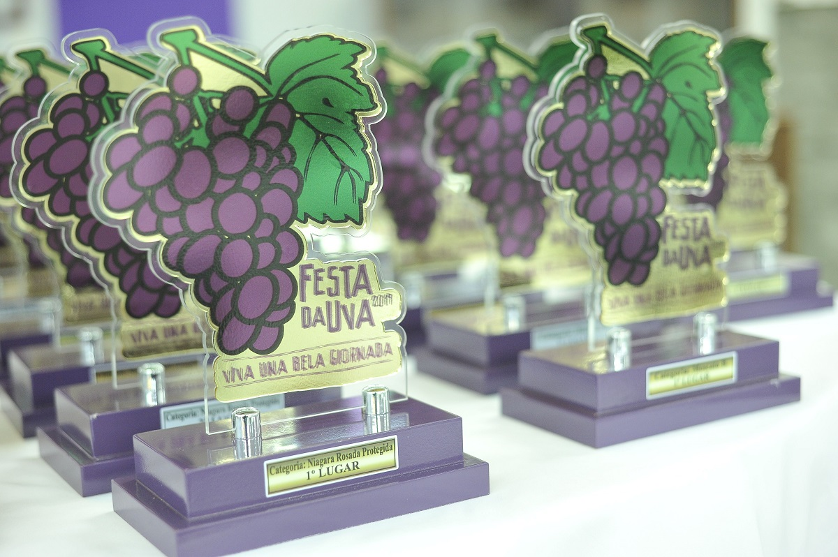Festa premia vencedores da Exposição de Uvas