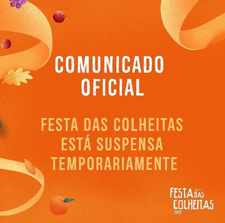 Festa das Colheitas, em Caxias do Sul, é suspensa temporariamente