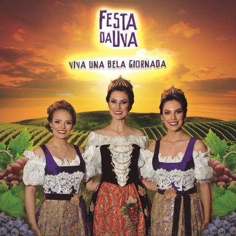 CD Oficial da Festa da Uva 2019  será lançado no dia da abertura