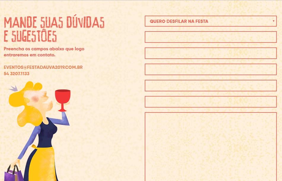 Festa da Uva 2019 abre inscrições   para figurantes dos corsos alegóricos