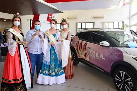 Nissan Kicks é o carro oficial das Soberanas da Festa da Uva 2022