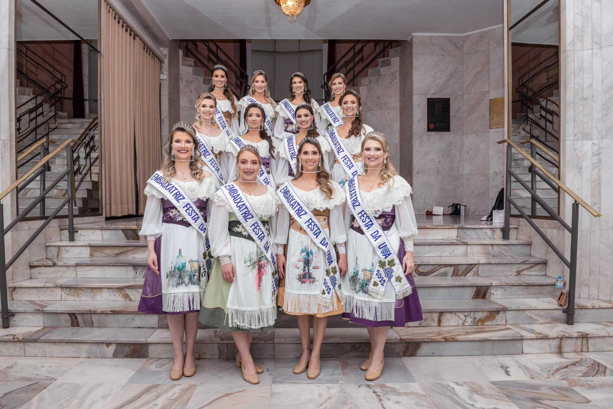 Rainha e Princesas da Festa da Uva 2022 serão conhecidas dia 22 de julho